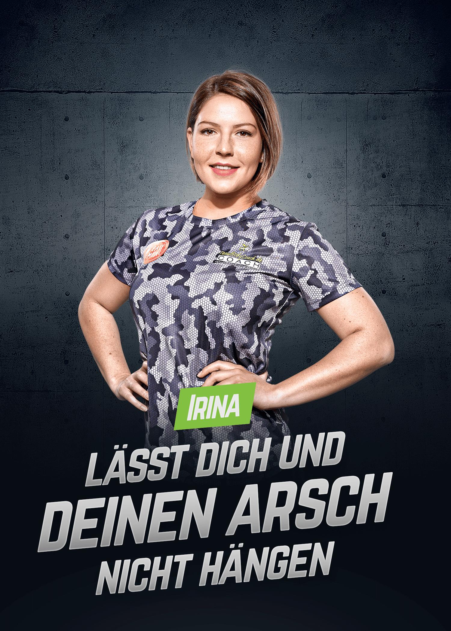 Personal Fitness Trainer Irina lässt dich und deinen Arsch nicht hängen