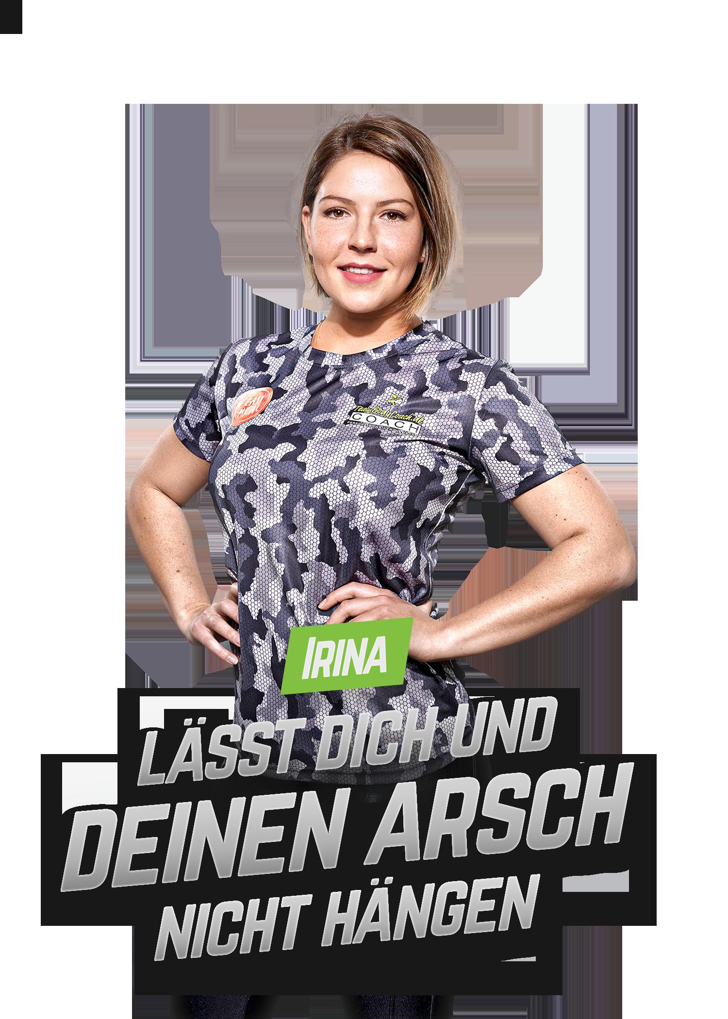 Personal Fitness Trainer Hamburg - TeamBodyCoach - Irina 1