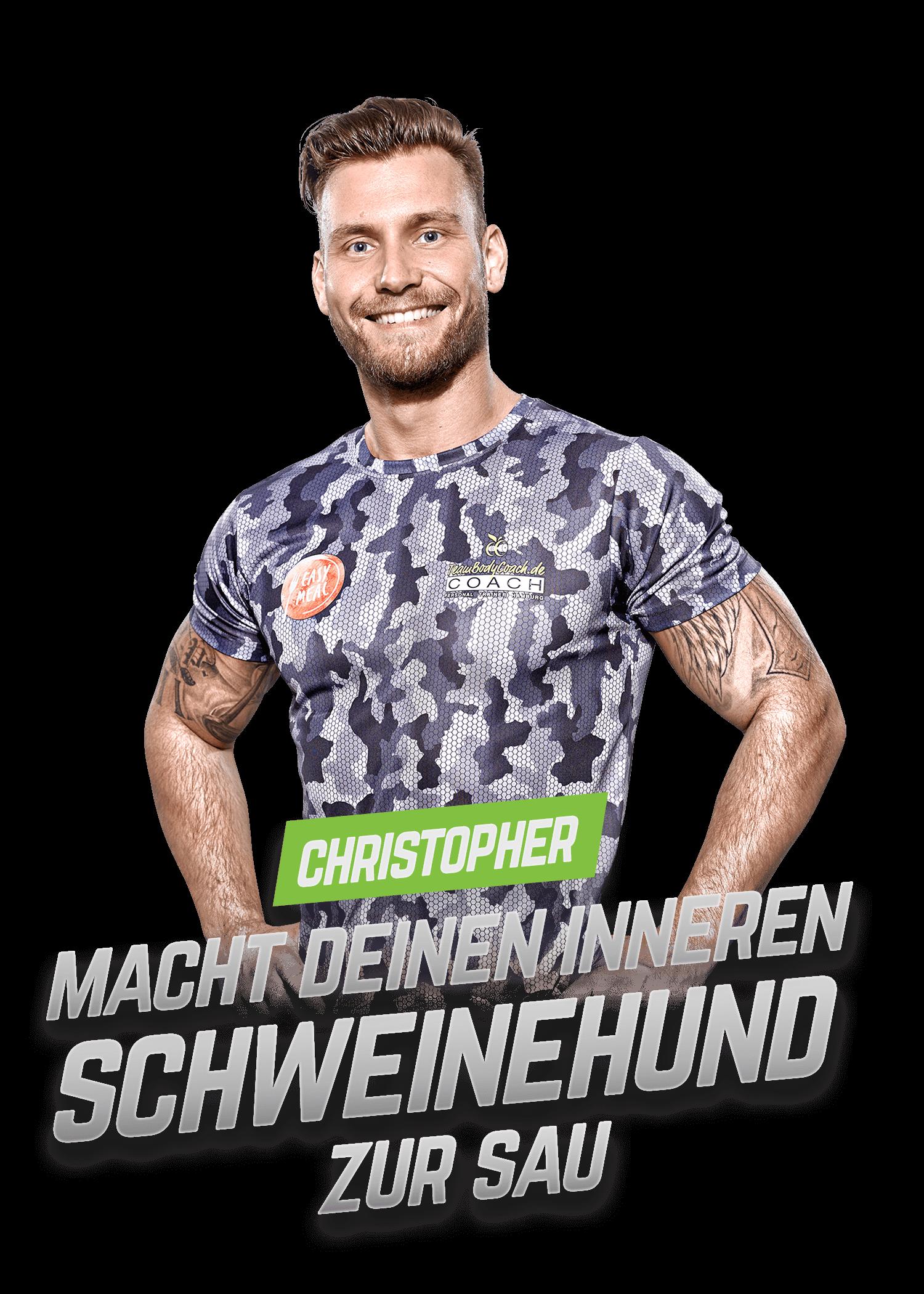 Personal Fitness Trainer Hamburg - TeamBodyCoach - Christopher 1